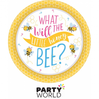 What Will It Bee? Round Paper Plates (8)