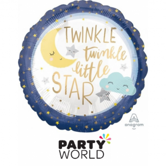 Twinkle Little Star Foil Balloon