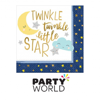 Twinkle Little Star Luncheon Napkins (16)