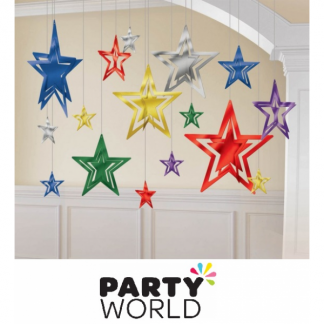 3D Star Foil Decorating Kit