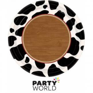 Western Party Yeehaw Paper Plates (8)