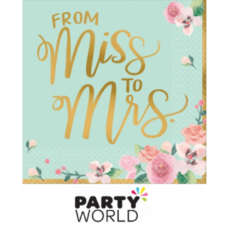 Mint To Be From Miss to Mrs Luncheon Napkins (16)