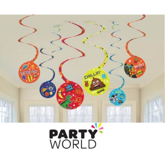 Epic Party Hanging Swirl Decorations (8)