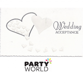 Wedding Acceptance Card