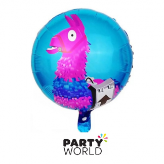 Fortnite Party Llama Foil Balloon
