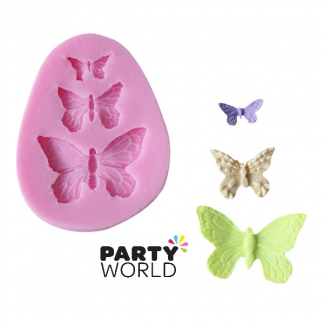Butterfly Shapes Silicon Cake Mold