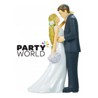 Bride And Groom Wedding Cake Topper (Blonde)