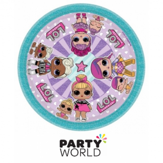 LOL Surprise Dolls Paper Plates 7in (8)