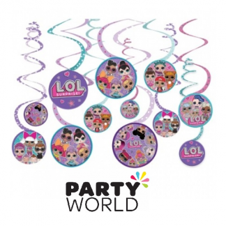 LOL Surprise Dolls Spiral Decorations (12)
