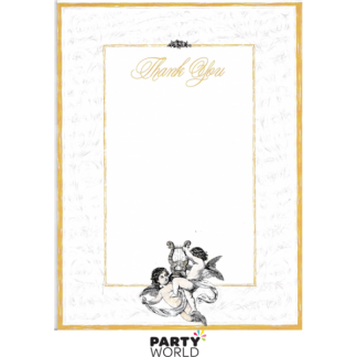 Cupid Thank You Card Pad (30 Sheets)