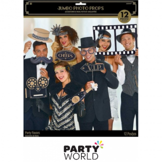 Glitz & Glamour Jumbo Photo Prop Kit