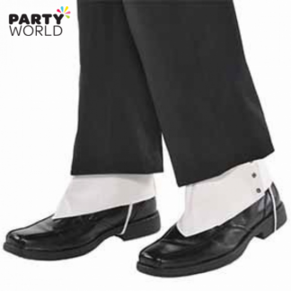 Roaring 20's Gangster Spats (1 pair)