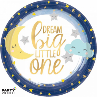 Twinkle Little Star Paper Plates 7in (8)