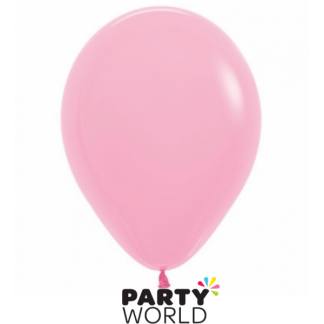 Large 40cm Fashion Bubblegum Pink Latex Balloon