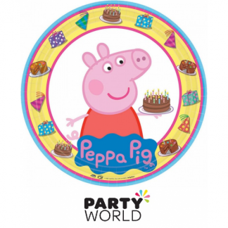 Peppa Pig Paper Plates 9in (8)