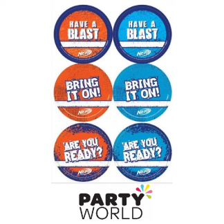 Nerf Party Stickers (24)