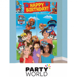Paw Patrol Scene Setters With Props