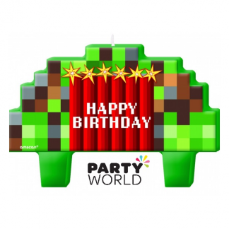 Minecraft TNT Party Candle Set