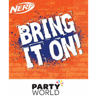 Nerf Party Paper Luncheon Napkins (16)