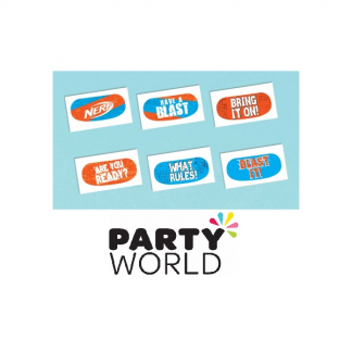 Nerf Party Temporary Tattoos (12)