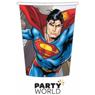 Superman Party Paper Cups (8)