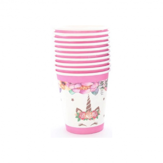 Unicorn Party Paper Cups (8)