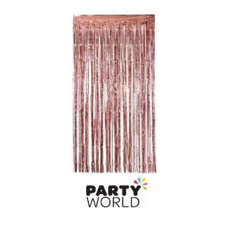 Rose Gold Foil Curtain