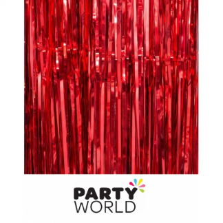 Red Foil Curtain