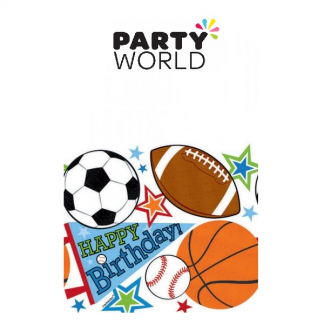 Sports Party Tablecover