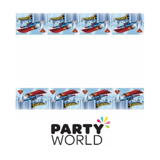 Superman Party Plastic Tablecover