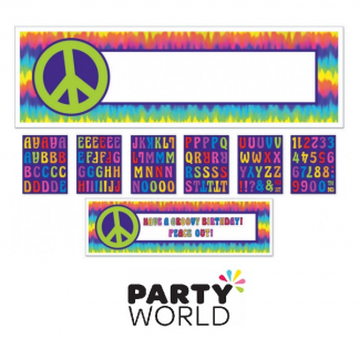 Feeling Groovy Personalised Giant Banner Kit