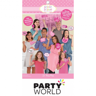Baby Shower Pink Deluxe Photo Shop Kit