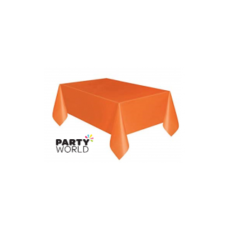 Orange Rectangular Tablecover