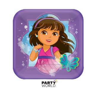 Dora & Friends Paper Plates 7in (8)