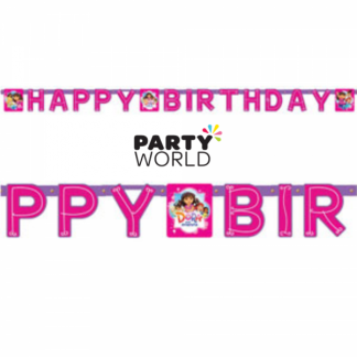 Dora & Friends Birthday Party Banner (2.3m)