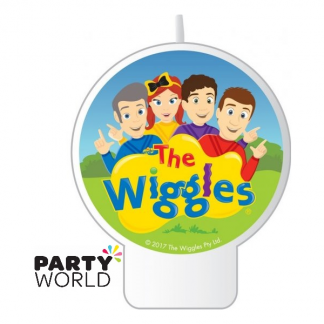 The Wiggles Cake Candle