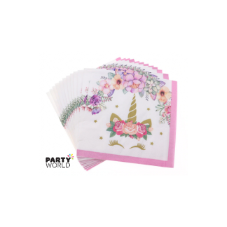 Unicorn Party Paper Luncheon Napkins (16)