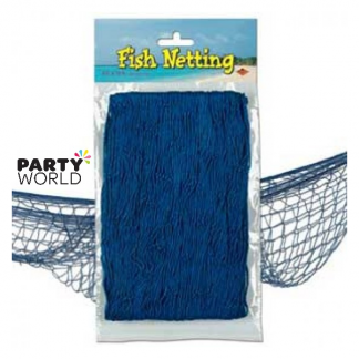 Fish Netting - Blue