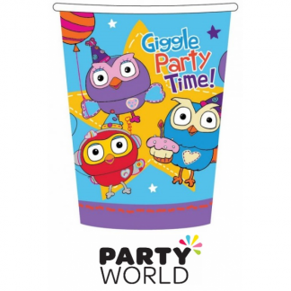Giggle And Hoot Party Cups (8)