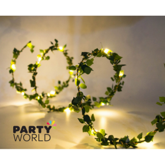 Ivy Leaves Seed Lights LED White (3m)
