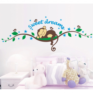 Sweet Monkey Wall Sticker