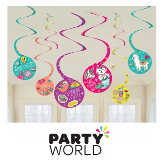 Selfie Celebration Spiral Hanging Decorations