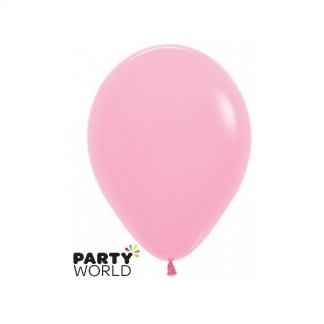 "Sempertex Solid Colour 18""/45cm Pink Balloon"