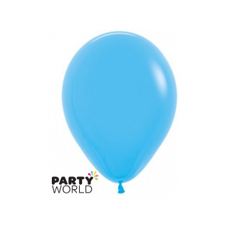 "Sempertex Solid Colour 18"" Blue Latex Balloon"