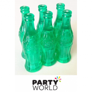 Mini Plastic 4cm Coke Bottle