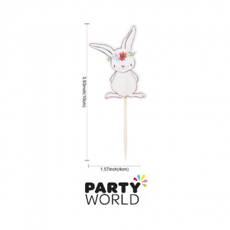 Bunny Cake Toppers / Picks (12)