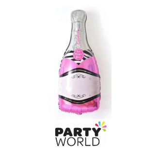 Champagne Bottle Foil Balloon