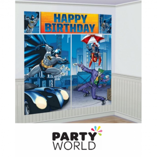 Batman Birthday Wall Decorating Kit