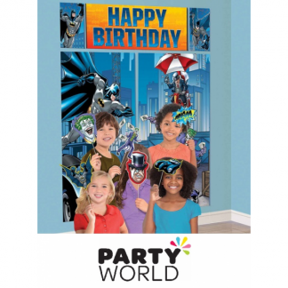 Batman Birthday Scene Setters With Photo Props