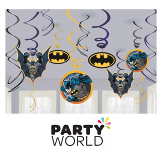 Batman Swirl Decoration Value Pack